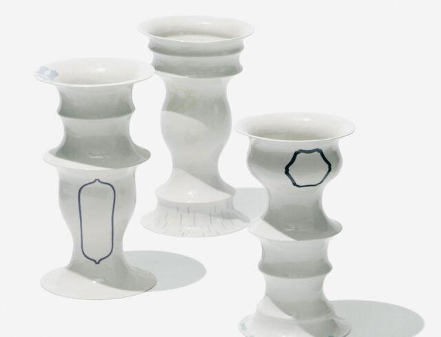 Keramiker Marianne Nielsen - Vaser, 2003, foto: Jeppe Gudmundsen-Holmgreen