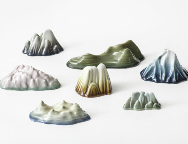 Keramiker Marianne Nielsen -Bjerge, 2005, foto: Ole Akhøj