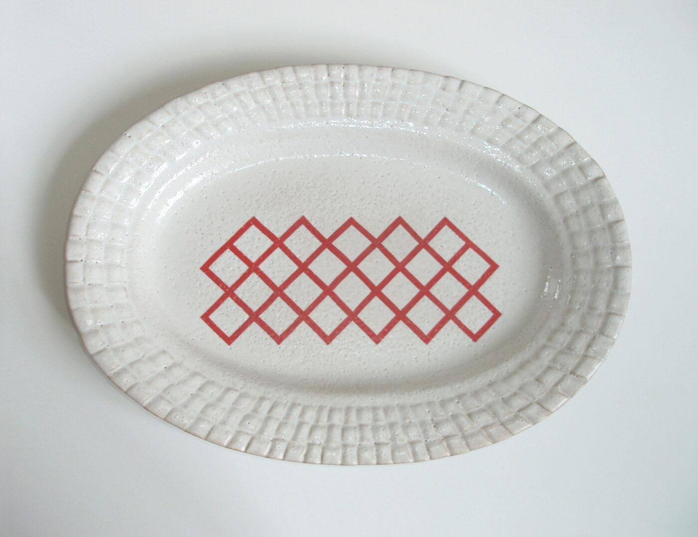 Keramiker Marianne Nielsen - Damaskusfade, Gitter, 2006
