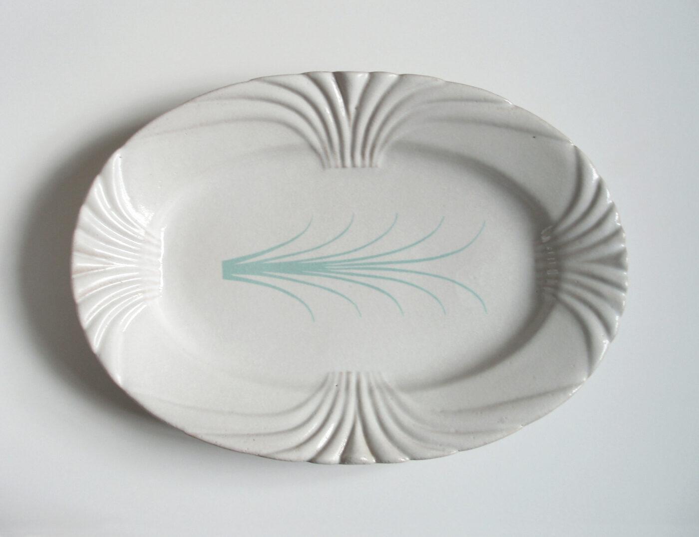 Keramiker Marianne Nielsen - Damaskusfade, Turkis, 2006