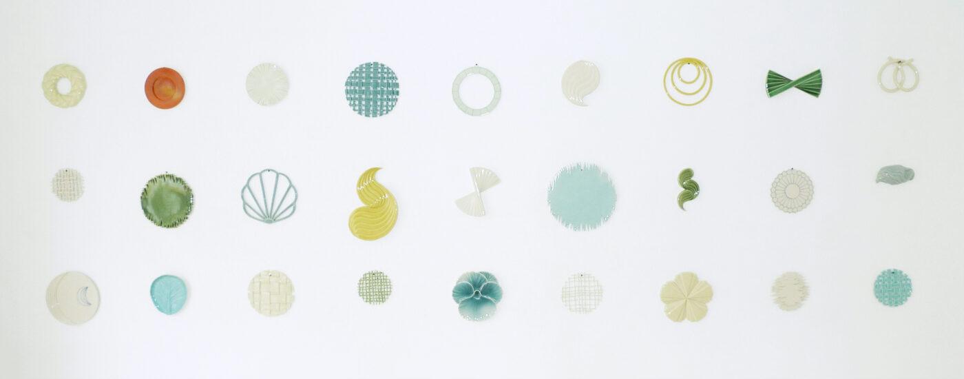 Keramiker Marianne Nielsen - Kontrast, Væg, 2010