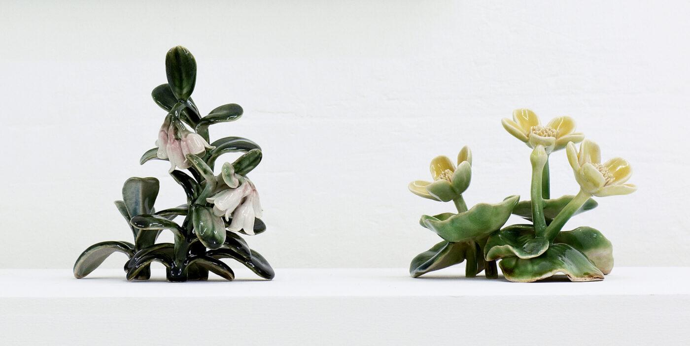 Keramiker Marianne Nielsen - CC, Tyttebær og engkabbeleje, 2012, foto: Jeppe Gudmundsen-Holmgreen