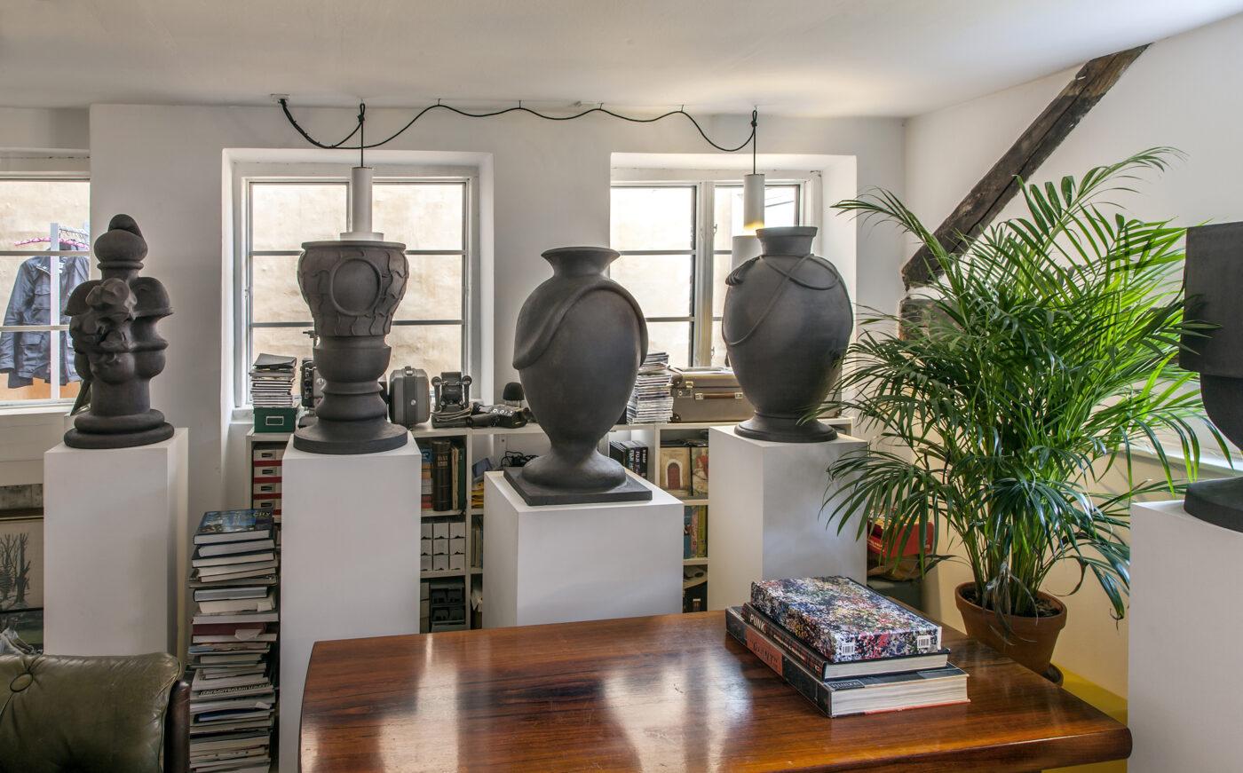 Keramiker Marianne Nielsen - Hjem, 2015, foto: Ole Akhøj